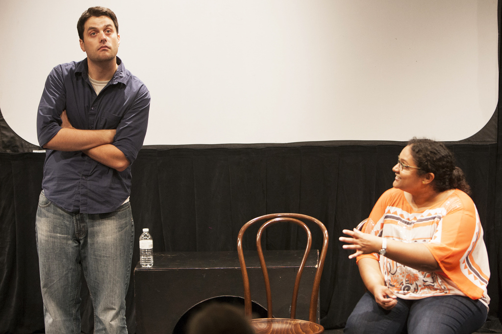 Matt& Nathra, improv comedy with an audience member